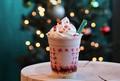 ピンクのメリーストロベリー ケーキ フラペチーノ(R)/画像提供:スターバックス コーヒー ジャパン