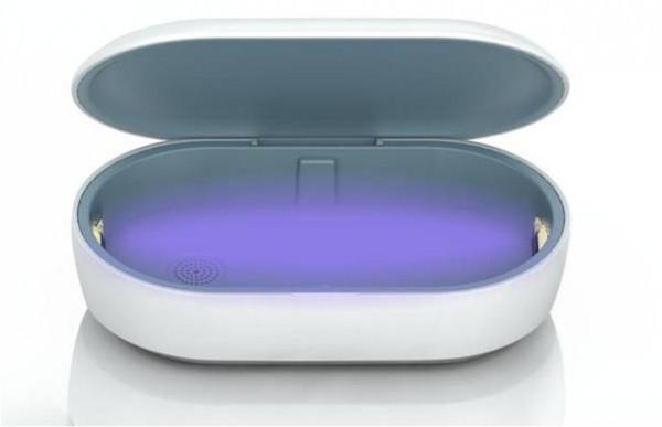[画像] スマホやマスクを99.9%殺菌・消毒 「UV殺菌ボックス」