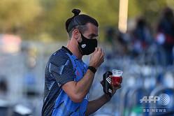 スペイン1部リーグ、レアル・マドリードのギャレス・ベイル(2020年7月16日撮影)。(c)GABRIEL BOUYS / AFP