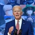 米デラウェア州ウィルミントンで新型コロナウイルスに関して演説する民主党大統領候補のジョー・バイデン前副大統領(2020年10月23日撮影)。(c)Angela Weiss / AFP