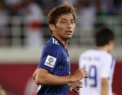 アジアカップ後はアラベスへの移籍が決まっている乾。持ち前の高いテクニックは周囲の代表選手も一目置くほどだ。写真:茂木あきら(サッカーダイジェスト写真部)