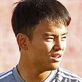 タジキスタンで練習に励む久保建英【写真:Football ZONE web】