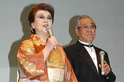 野村克也氏と妻の沙知代さん