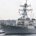 衝突事故のイージス駆逐艦が横須賀基地に帰港「安全航行に自信」