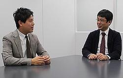 ワンテラス代表取締役の石中達也氏(写真:左)と、SBIエクイティクラウドの代表取締役社長の紫牟田慶輝氏(写真:右)が対談し、資金調達後の事業の進捗と株式投資型クラウドファンディングの可能性について語り合った。