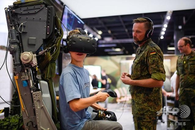[画像] ドイツ軍、ゲーム見本市で「サイバー部隊」勧誘 人材不足で
