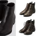 履き回しのきくショートブーツタイプで、どれも3990円以下! 売り切れ前に早めのチェックがおすすめ。