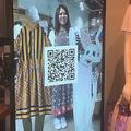 神戸でのVR接客、ウサギがアバター、2次元コードで商品をネット注文も可能(楽天技研提供)