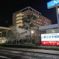 院内感染とみられる医療スタッフの新型コロナウイルス感染が確認された新小文字病院=北九州市門司区で2020年4月1日午後8時11分、宮城裕也撮影
