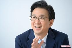 小木逸平アナ 撮影/渡邊智裕