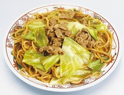 60年の歴史があるご当地麺「伊那ローメン」。麺は硬めで、しっかりした歯応えがある