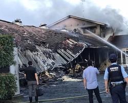 JRA栗東トレセンで火災発生