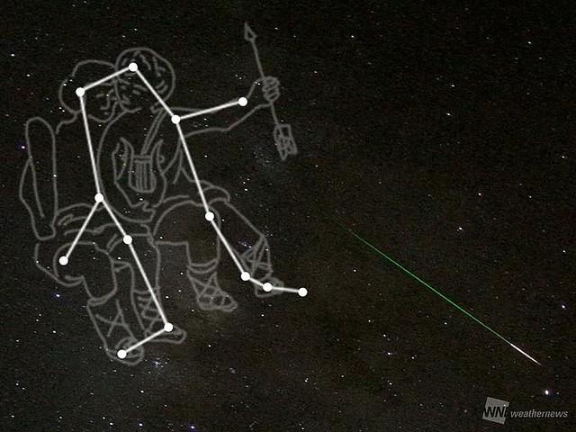 """3大流星群の""""ふたご座流星群""""が今週末ピークに"""