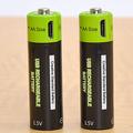 USBポートから直接充電が可能な乾電池が発売 充電器は不要