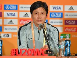 U-20韓国代表を率いるユン・ジェヨン監督