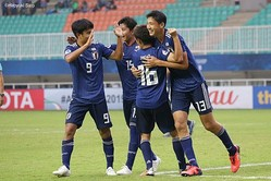 U−19日本代表、大量5得点で3連勝! 準々決勝は開催国インドネシアと激突