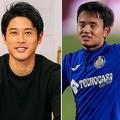 久保(右)のアーセナル移籍について持論を述べた内田氏(左)。 (C)DAZN/Suguru Saito、(C) Getty Images