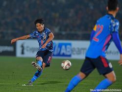またも直接FKを決めた日本代表MF原口元気(ハノーファー)