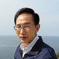任期終盤で人気取りのために竹島へ上陸した李明博