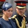 英国のヘンリー王子とメーガン妃(2019年6月8日撮影、資料写真)。(c)Daniel LEAL-OLIVAS / AFP