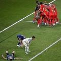 土壇場でベルギーが逆転した日本との試合は大会屈指の名勝負だった。 (C) Getty Images