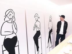 イラストレーター長場雄さんが描く、ハンドドリップ日本茶「東京茶寮」のあじわい