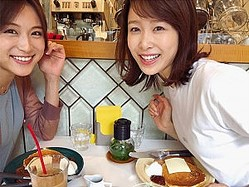 笹川友里アナと良原安美アナ(画像は『笹川友里 2019年6月10日付Instagram「先日、良原アナと束の間の」』のスクリーンショット)