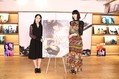 『Daughters』初日オンライン舞台あいさつに登壇した(左から)阿部純子、三吉彩花