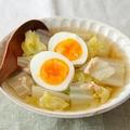 レンジで簡単!白菜が食べすぎを防ぐ「正月太り解消スープ」 by:五十嵐ゆかりさん