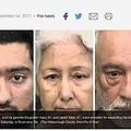 逮捕された男と両親(画像は『Fox News 2017年9月4日付「Indian man's parents fly to Florida to beat son's wife for being 'disobedient,' police say」(The Hillsborough County Sheriff's Office)』のスクリーンショット)