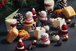"""フォーシーズンズホテル京都""""いちご×チョコ""""クリスマスアフタヌーンティー、雪だるまなどをモチーフに"""
