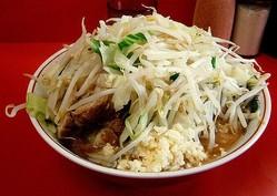 ラーメン二郎でダイエットする人の注文のコツ