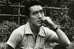 三島由紀夫(Shirou Aoyama/1956年/Wikimedia Commons)