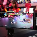 NTTドコモのブースでは、5Gによって実現できる新しいゲーム体験を提案