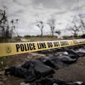 フィリピンで、災害現場に張られた規制線(2013年11月14日撮影、資料写真)。(c) PHILIPPE LOPEZ / AFP