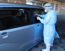 新潟市では3月1日から、すでに「ドライブスルー方式」のPCR検査が始まっている(写真/新潟市提供)