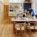 店舗併用住宅を2世帯住宅にリフォーム(TOTO提供)