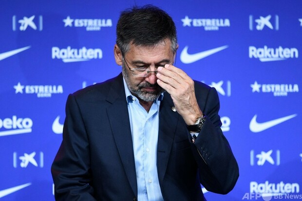 バルセロナのバルトメウ前会長が逮捕か 「バルサゲート」捜査で