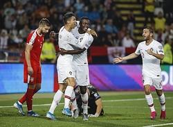 王者ポルトガル、EURO予選初白星…C・ロナウドら4得点でセルビアを撃破