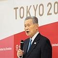 2021年2月12日辞意表明する森喜朗元会長(画像:REUTERS / POOL - stock.adobe.com)