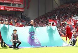 再開の行方が注目を集めているプレミアリーグで仰天プランが浮上したようだ。 (C) Getty Images