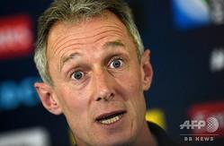 ラグビーウェールズ代表でアシスタントコーチを務めていたロブ・ハウリー氏(2015年9月28日撮影)。(c)Lo VENANCE / AFP