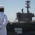 米空母「セオドア・ルーズベルト」に乗艦する海軍要員25人が新型コロナに感染した/US Navy