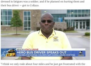 [画像] 【海外発!Breaking News】スクールバスを乗っ取った男、子ども達の質問攻めにお手上げ(米)<動画あり>