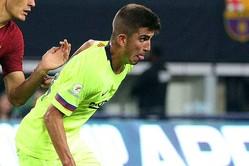 FCバルセロナBでプレーするMFモンチュ【写真:Getty Images】
