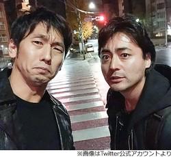 フリー素材モデル、山田孝之と酒を飲む