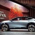 今年発売が予定されているバッテリー式電気自動車(BEV)の「アリア」