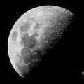 夜空に浮かぶ月(2019年6月10日撮影、資料写真)。(c)Ye Aung THU / AFP