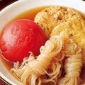 「トマトとがんもの簡単おでん」/料理:重信初江 撮影:邑口京一郎