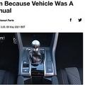 犯人らが逃走した理由はマニュアル車が運転できなかったから?(画像は『LADbible 2021年5月5日付「Would-Be Melbourne Carjackers Foiled In Getaway Plan Because Vehicle Was A Manual」』のスクリーンショット)